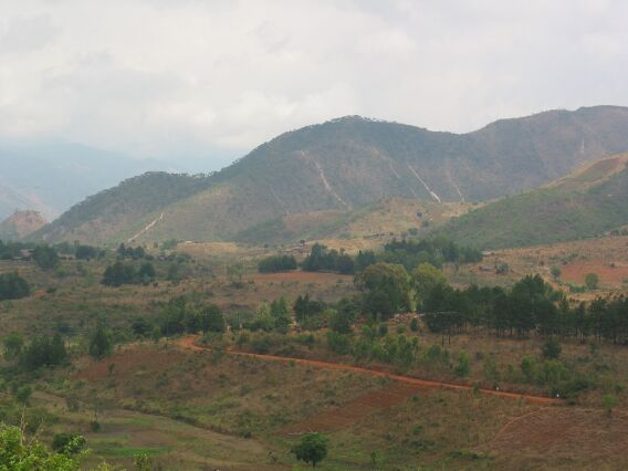 View from the top. Livingstonia, Malawi.