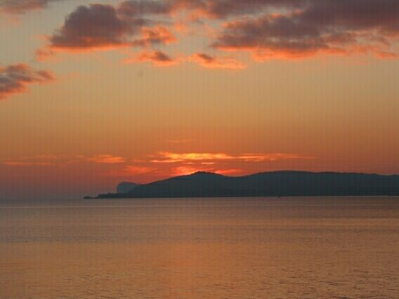 Sunset at Alghero.
